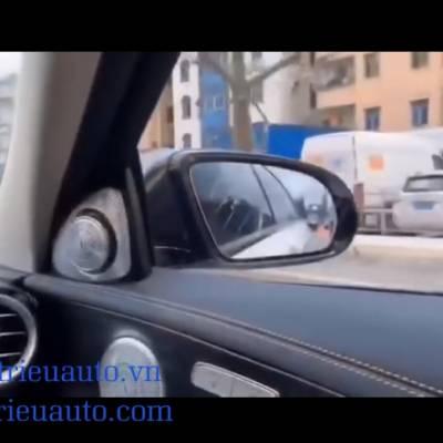 Cảnh báo điểm mù theo xe mercedes c