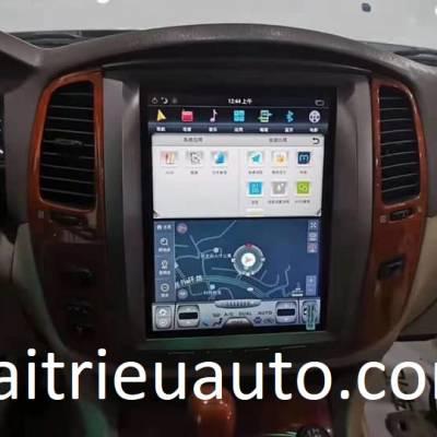 Màn hình tesla android xe Lexus LX 470