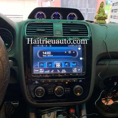 Màn hình android theo xe Volkswagen Scirocco