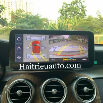 Camera 360 theo xe Mercedes GLC 250