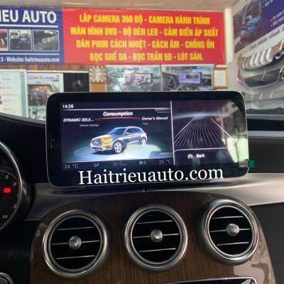 Màn hình android theo xe Mercedes GLC250