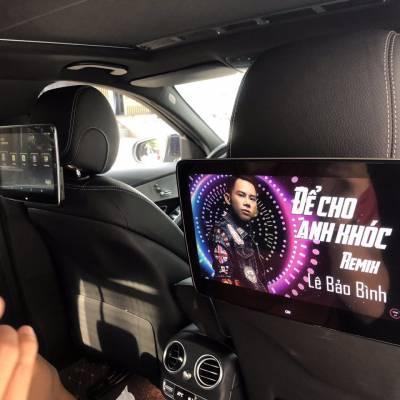 màn hình gối android theo xe mercedes GLC