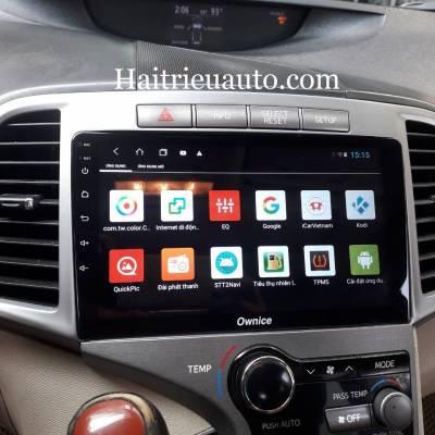 màn hình android theo xe venza