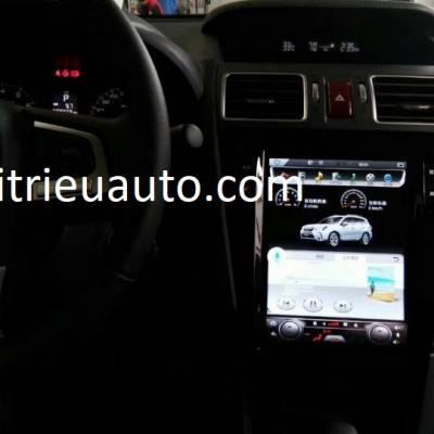 màn hình android theo xe subaru outback