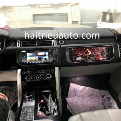 màn hình bên phụ xe Range Rover