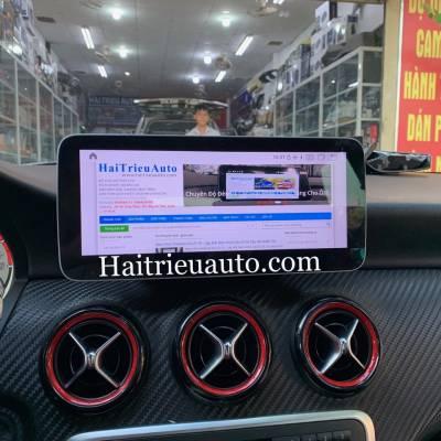 Màn hình android theo xe Mercedes A 45