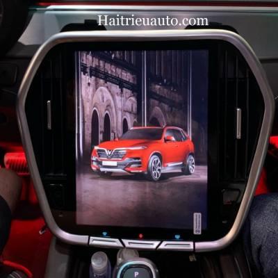 màn hình android theo xe vinfast lux