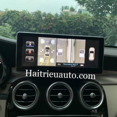 Camera 360 theo xe Mercedes GLC