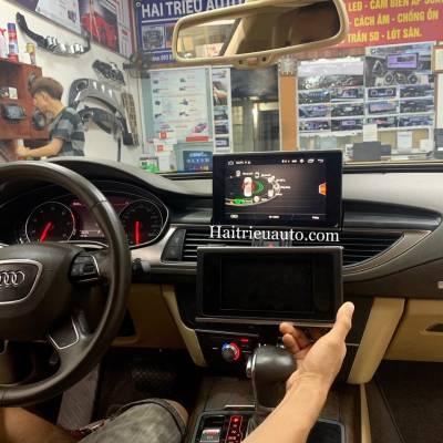 Màn hình android theo xe Audi A7