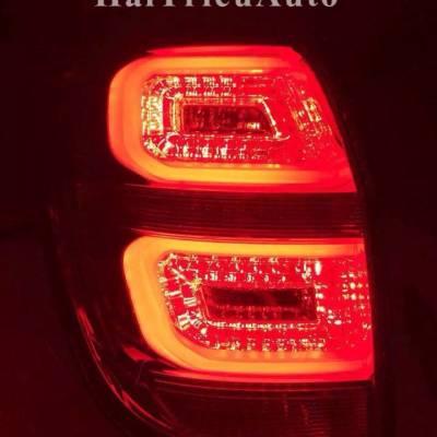 Đèn hậu độ nguyên bộ xe captiva