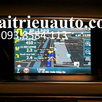 Lắp Vietmap cho Audi Q5