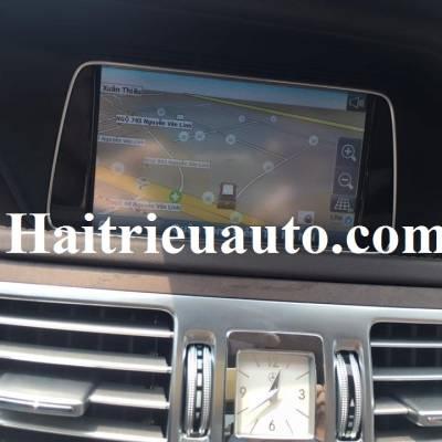 lắp vietmap cho Mercedes E200 2015