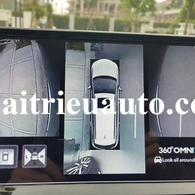 lắp camera 360° Omnivue cho Toyota Landcruiser VX 2016