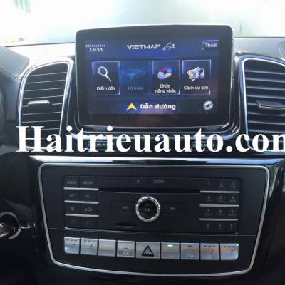 Lắp vietmap cho Mercedes GLS 400