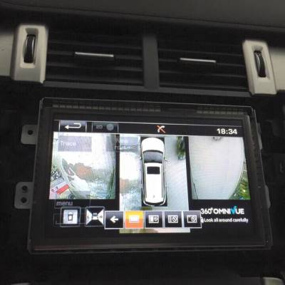 camera 360 Omnivue cho Range Rover Evoque