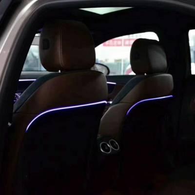 led sau lưng ghế xe mercedes C, GLC