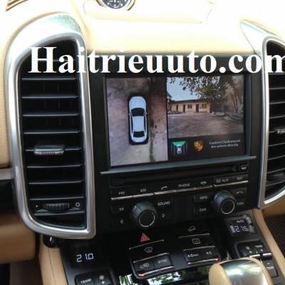 camera 360 cho Porsche Cayenne