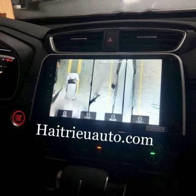 camera 360 theo xe Honda CRV