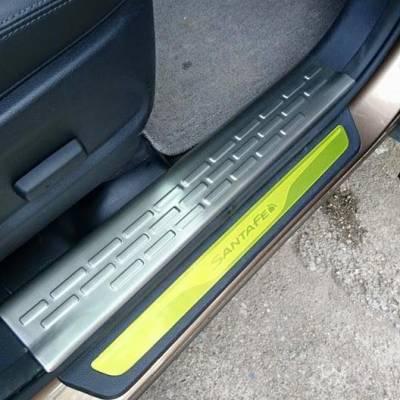 Nẹp bước chân trong Hyundai Santafe