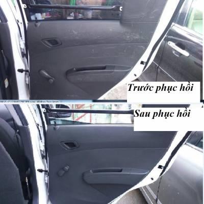 Sơn lại vách cửa xe