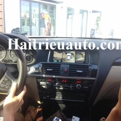 Lắp camera 360 độ cho xe BMW X3