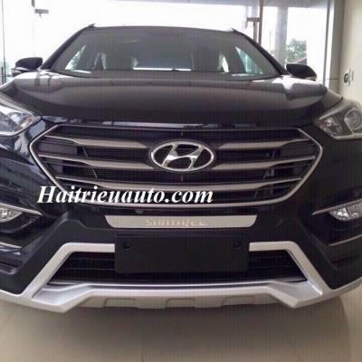 Ốp cản trước theo xe Hyundai Santafe
