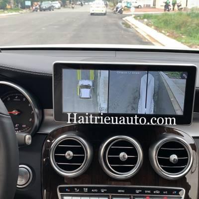 Camera 360 theo xe Mercedes GLC 200