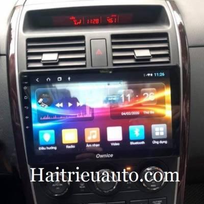 màn hình android theo xe mazda cx9