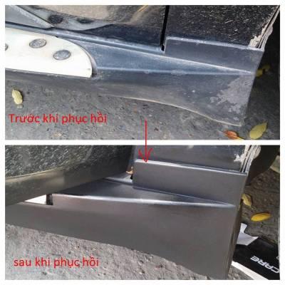 Sơn phục hồi lại vách cửa xe