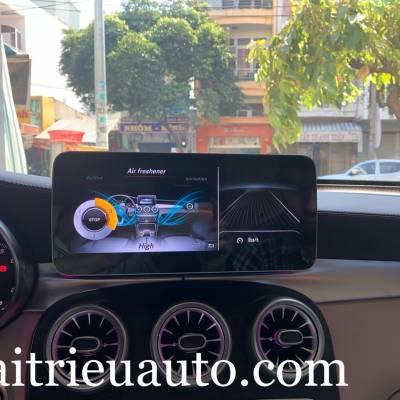 Hệ thống nước hoa Air freshener và  Ionisation theo xe Mercedes GLC