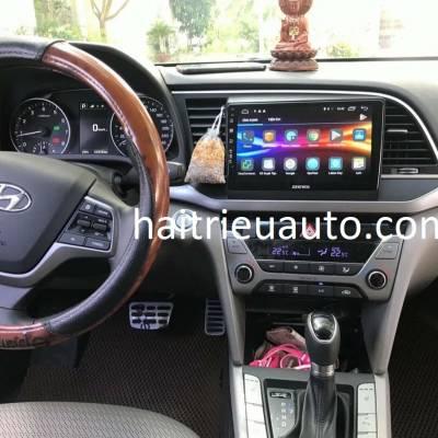màn hình android zestech theo xe Elantra