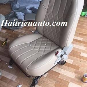 Bọc ghế da cho xe Innova mẫu mới