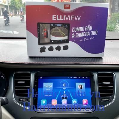 màn hình android  Ownice theo xe kia Rondo
