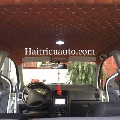 Bọc trần da 5D cho xe Daewoo Lacetti