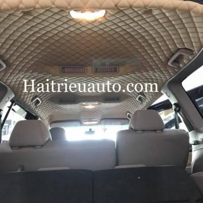 Bọc trần da 5D cho xe  Mitsubishi Pajero Sport