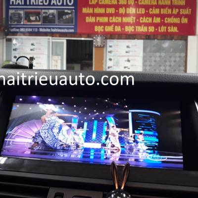 màn hình android cho BMW 520i 2012