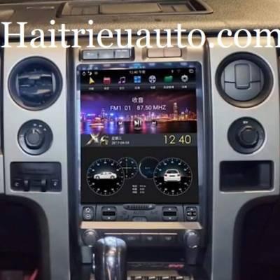 màn hình tesla android xe ford F150