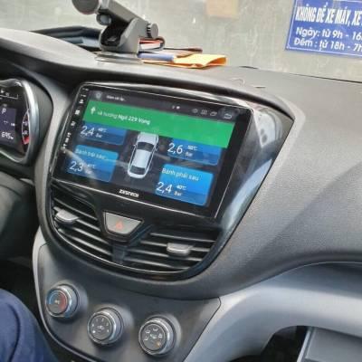 màn hình android Zestech theo xe Fadil
