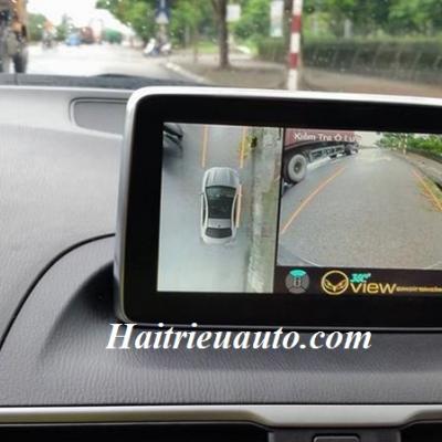 Lắp camera 360 độ cho xe Mazda 3
