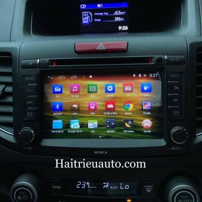 DVD Android S160 worca CHO XE HONDA CRV 2013