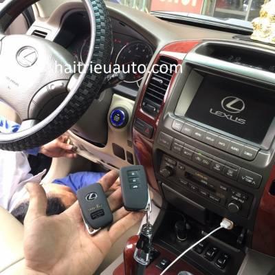 Lắp Startstop Smartkey cho xe Lexus