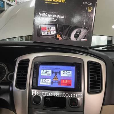 Cảm biến áp suất lốp tích hợp DVD cho xe ford escape