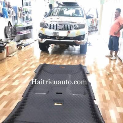 Bọc trần da 5D cho Toyota fortuner