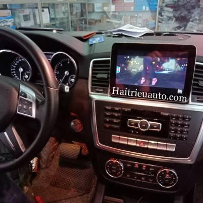 Màn hình android theo xe Mercedes GL 350 2013