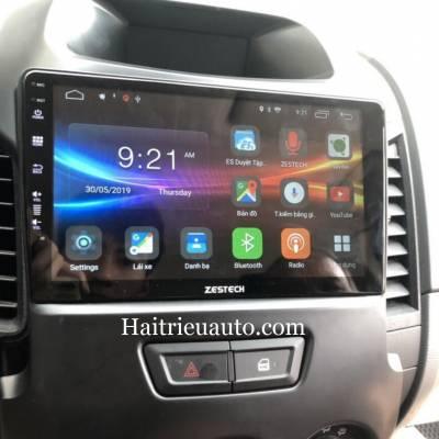 màn hình android theo xe Ford Ranger 2015