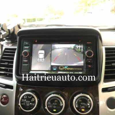 camera 360 Oview cho xe Mitsubishi Pajero Sport
