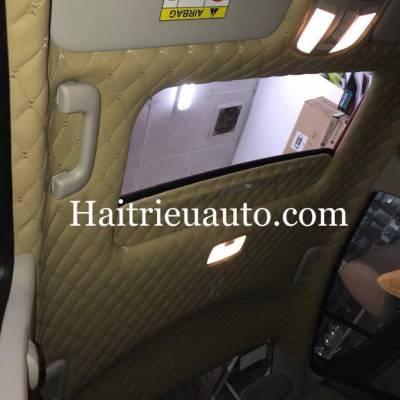 Bọc trần da 5D cho xe Hyundai Elantra