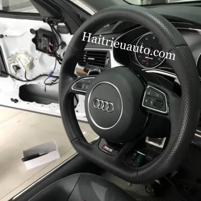 Nâng cấp vô lăng RS cho Audi A6