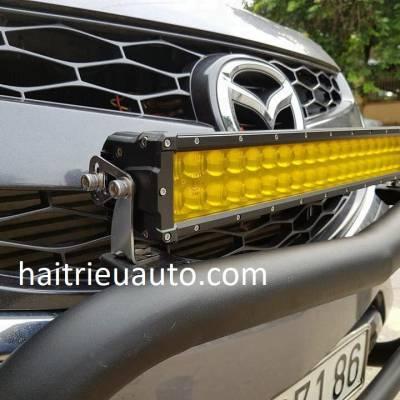 độ đèn trước xe mazda BT50