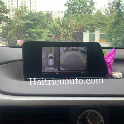 Lắp camera 360 cho xe Lexus RX 200T